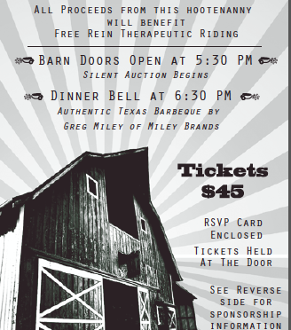 Barn Dance Invite Front